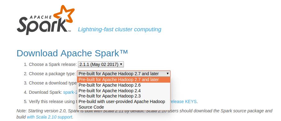 Cài Apache Spark standalone bản pre-built