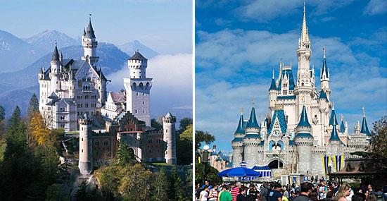 O Castelo de verdade que inspirou os palácios de contos de fadas da Disney - Neuschwanstein