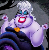 Image result for sea witch from the little mermaid