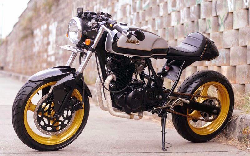 Kumpulan Foto Modifikasi Motor Suzuki Thunder 250 Keren