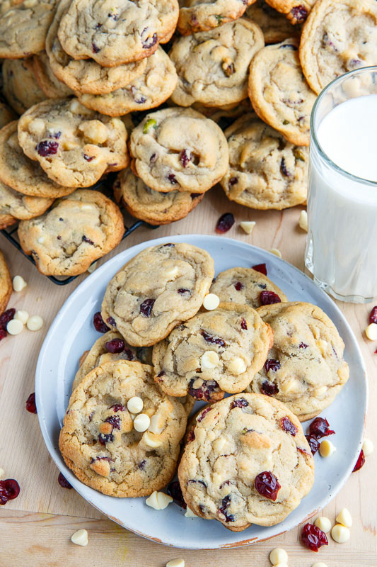 Cranberry White Chocolate Chip Cookies Recipe On Closet