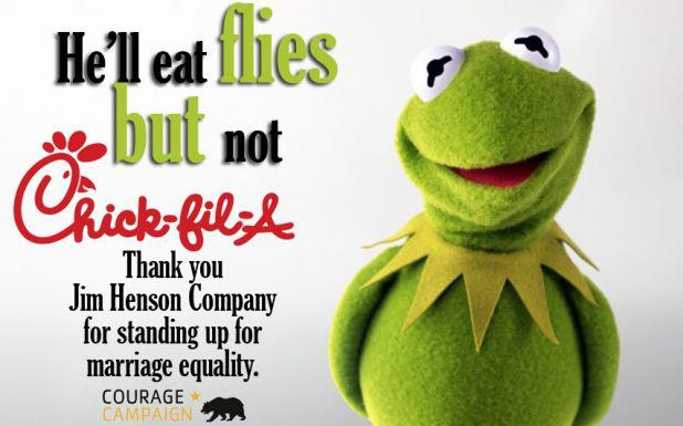 Chick fil a and the muppets