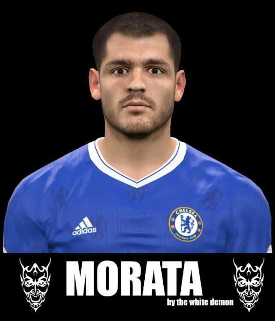 New Face Alvaro Morata PES 2017