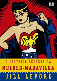 livro A História Secreta da Mulher-Maravilha
