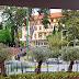 vista a partir dos jardins do Savoy Palace