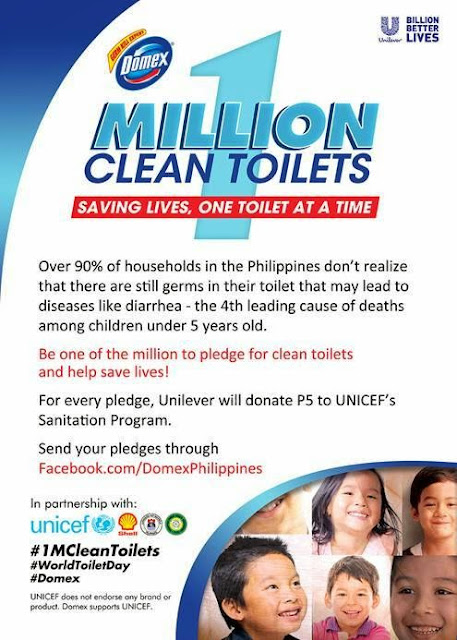 domex one million clean toilets movement