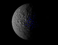 Ceres' Shadowed Craters Over Time