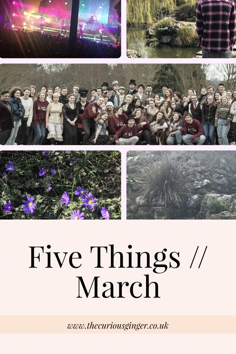 5 Things // March Edition