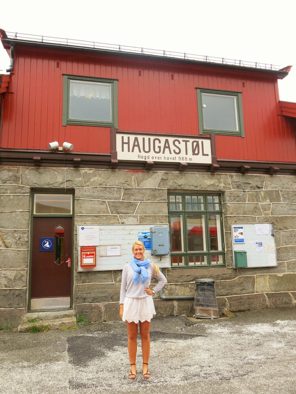 Bergensbanan Haugastöl