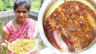 Amazing Traditional Taste Prawns Recipe- South Indian Cooking Royyala Recip Village Style- Sea Foods
