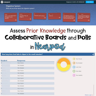 Using Collaborative Boards and Polls to assess understanding in Nearpod