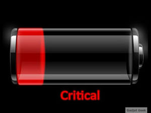 Critical Battery Level