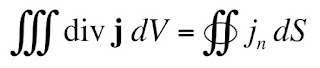 The divergence theorem.