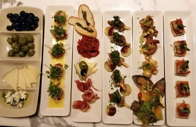 The Tapas spread