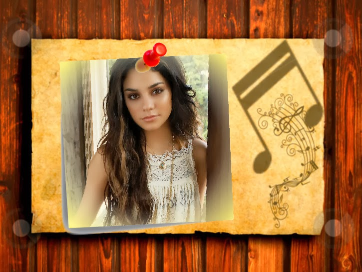 Imagenes De Amor Con Efectos: Pagina Para Editar Fotos: Marco Con Efectos De Notas Musicales