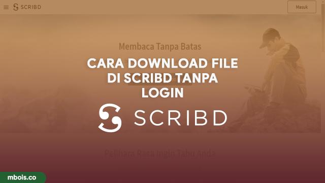 Website Untuk Download File di Scribd Mudah Tanpa Login