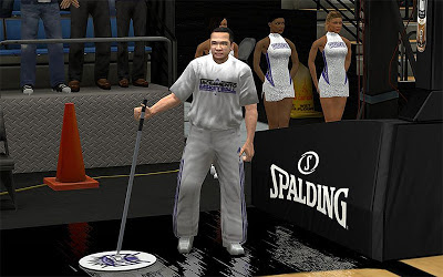 NBA 2K13 Sacramento Kings Janitor Mod