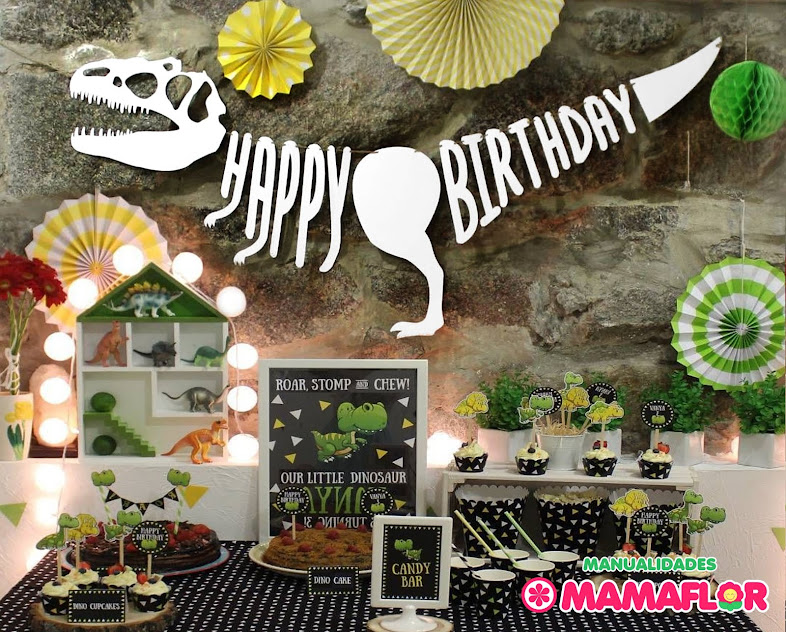 ideas dinosaurio fiesta decoracion candy bar sorpresa