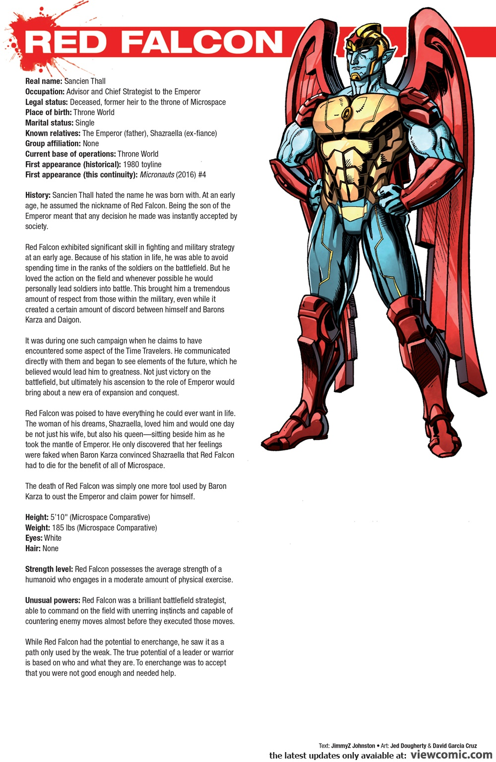 Hasbro Heroes Sourcebook 003 (2017) | Viewcomic reading