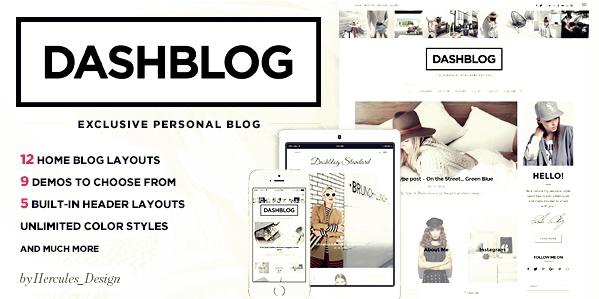 DashBlog Wordpress Teması