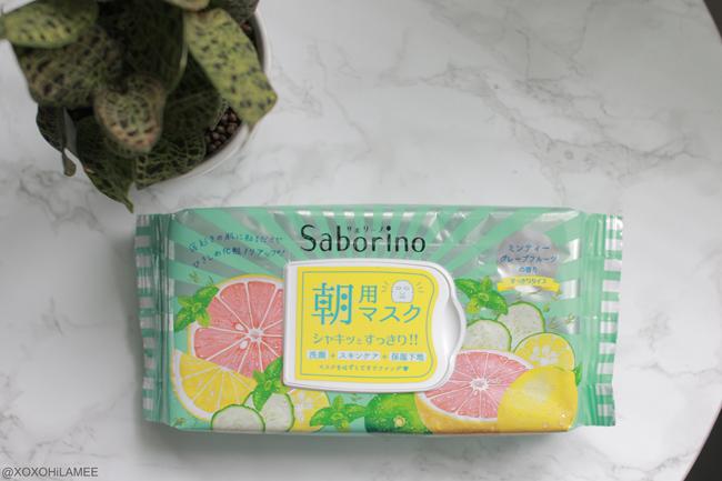 Japanese Fashion Blogger,Mizuho K,6月に買ったモノ,サボリーノ Saborino-フェイスマスク パック
