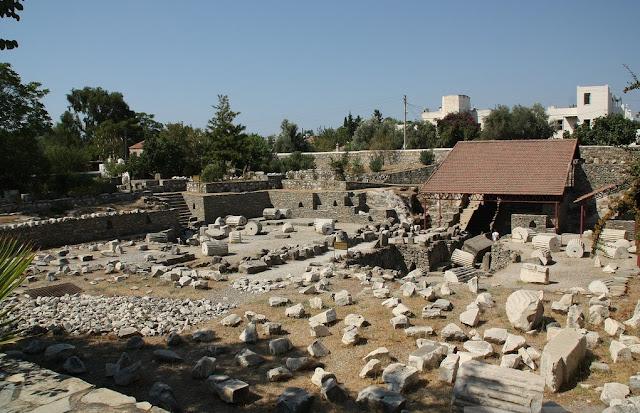 Mausoléu de Halicarnasso em Bodrum na Turquia