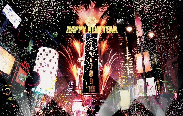 Happy New Year 2016 Eve Countdown New York Pics