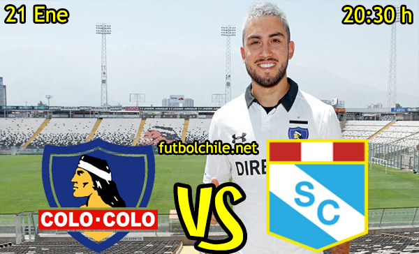 Ver stream hd youtube facebook movil android ios iphone table ipad windows mac linux resultado en vivo, online: Colo Colo vs Sporting Cristal