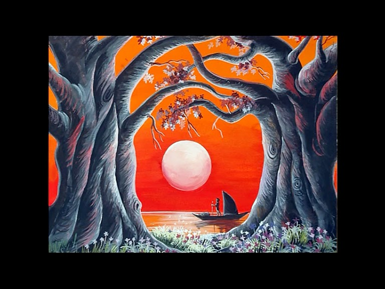 Thomas Oviyar Poster Color Paintings