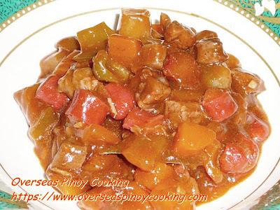 Beef Menudo Recipe