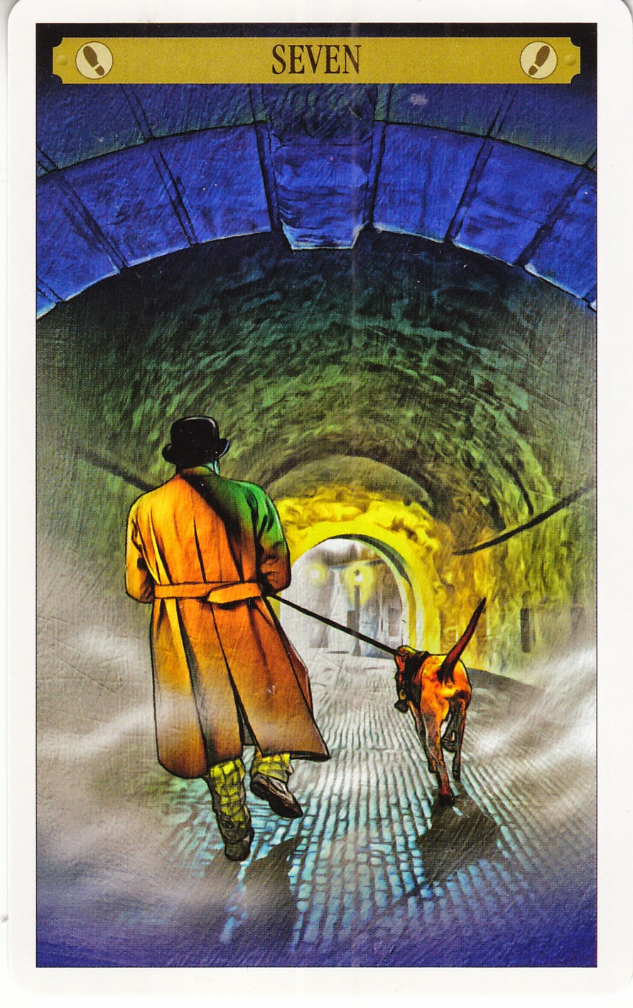 Rowan Tarot December 2012: Rowan Tarot: Sherlock Holmes Tarot -- Hot Pursuit