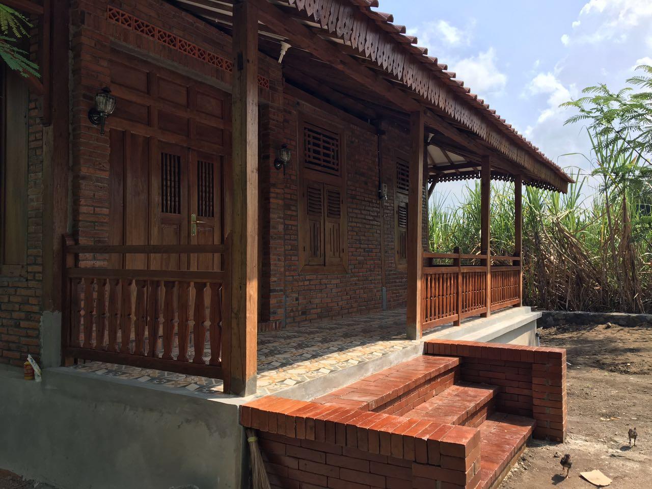 Bentuk Teras Rumah Jawa Denah Rumah