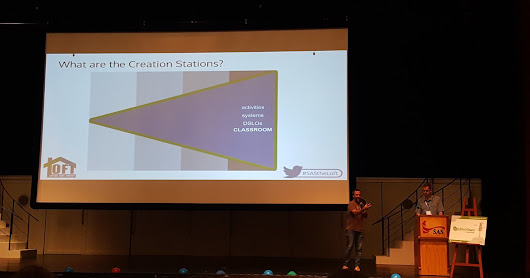 The Creation Stations Evolution - #ignite session at #gafesummit 2016
