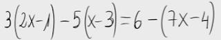 12. Ecuación de primer grado (propiedad distributiva)
