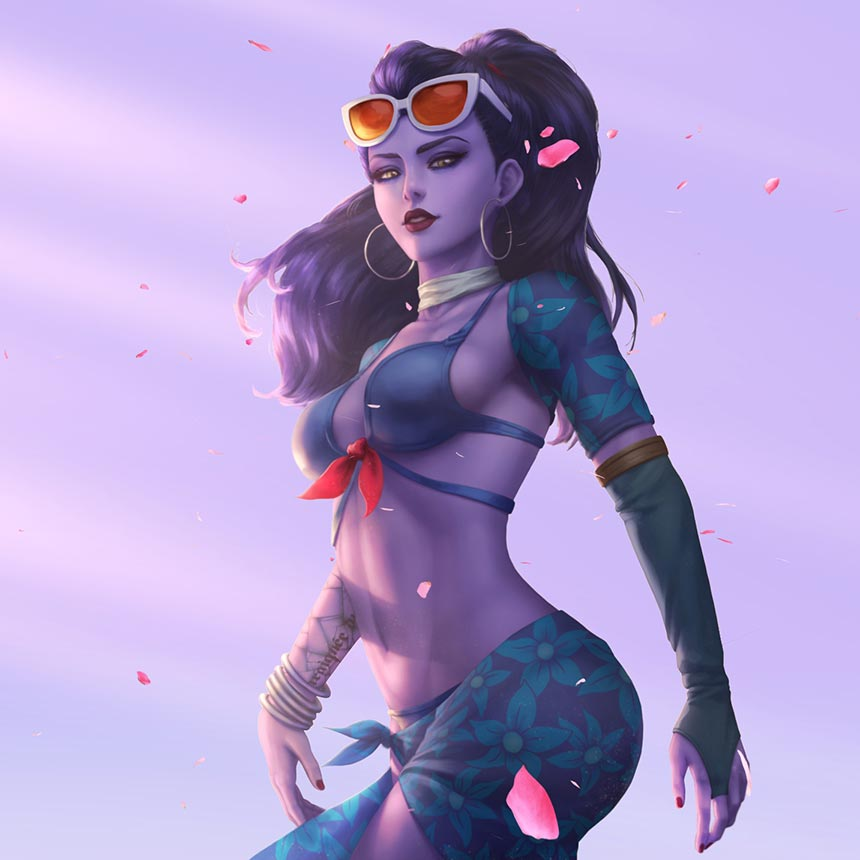 How To Download Live Wallpapers For Iphone Overwatch Widowmaker Wallpaper Engine Free Wallpaper