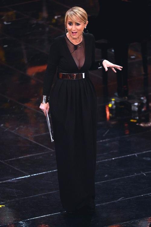 Luciana Littizzetto in Gianluca Capannolo - Sanremo 2013