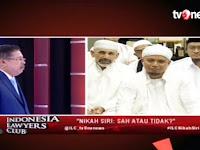 Ust Arifin di ILC tvOne Bahas NIkah Sirri & Poligami, Karni Ilyas Sampai Terkesima