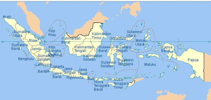 Pengertian Batas Batas Wilayah Negara Indonesia Bagian Timur Barat Utara Dan Selatan Secara Lengkap Media Pendidikan