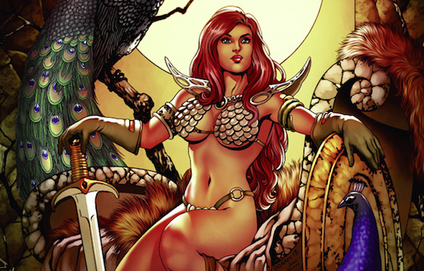 from Gael sexy comic book characters porn