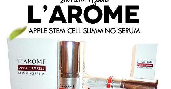 l arome slimming serum review