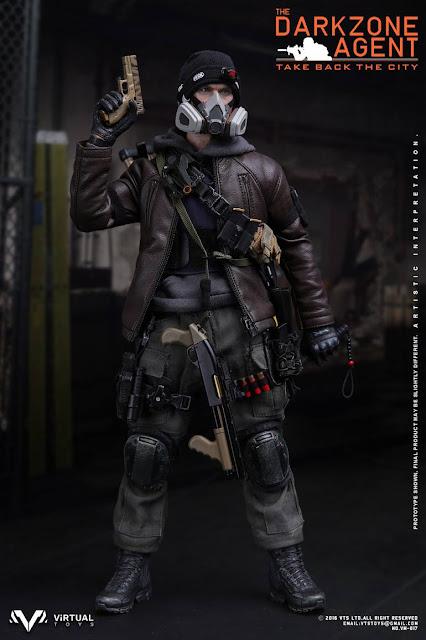 4f816b0edbf toyhaven  VTS Toys 1 6th scale The Darkzone Agent 12-inch figure is ...