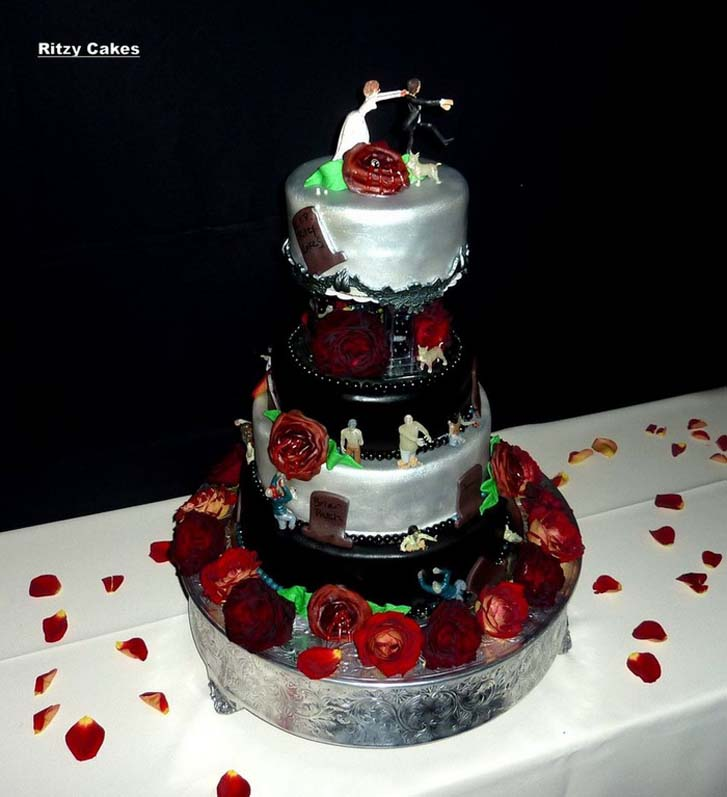 Simple Wedding Cakes 80 Fabulous Funny Wedding Cakes Pictures