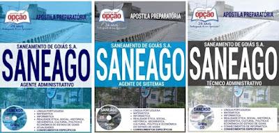 Apostila da Saneago GO - Saneamento de Goiás S.A 2018