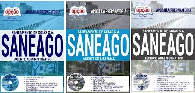 Apostila da Saneamento de Goiás S.A Saneago 2018