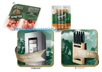 Logo Concorso #VinciconSenfter: in palio ceppi di coltelli Victorinox e 1 Frigorifero Samsung Family Hu