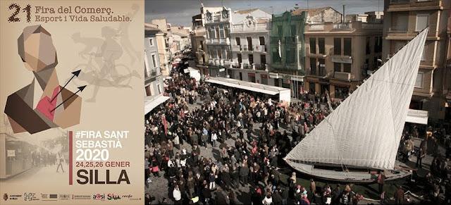 Fira de Sant Sebastià en Silla (Valencia)