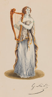 George Sand - Marceline Desbordes-Valmore - Musée de la Vie Romantique.