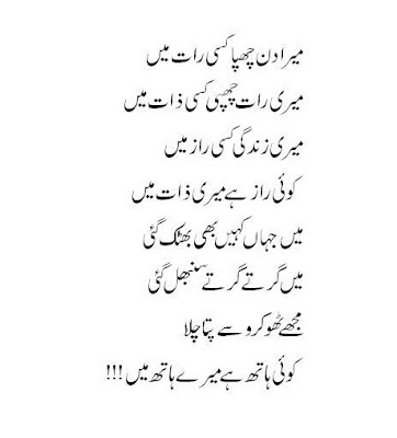 Koi Hath Ha Mere Hath Mein-Romantic Shayari,Love Poetry, Ghazal's