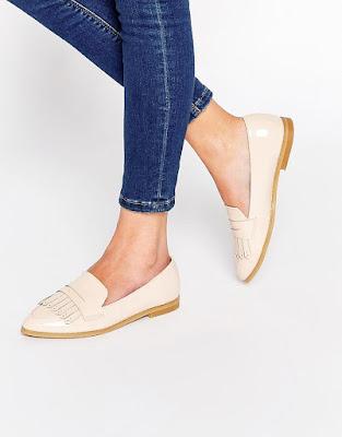 mocasines con calcetines mujer