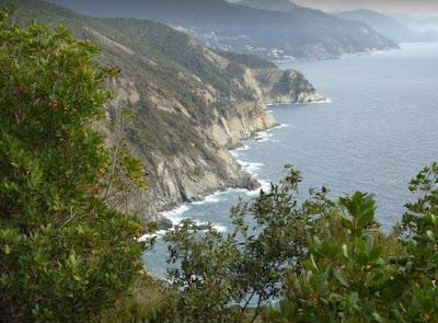 panorama costiero tra Punta Baffe e Valle Grande